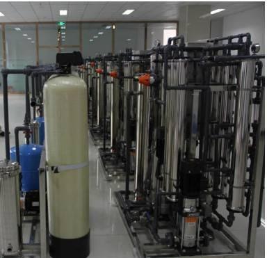 Reverse osmosis water purification machine