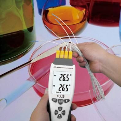 Brand K-type/J-type temperature transimitter theory Thermocouple Thermometers ET-960D