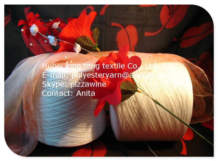 40/2 Polyester spun yarn for sewing thread