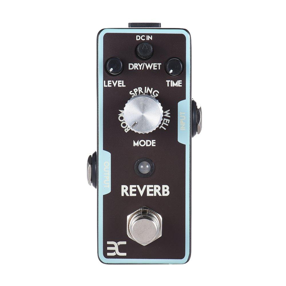 Reverb Guitar Effect Pedal Reverb Guitar Pedal True Bypass Guitar Parts & Accessories