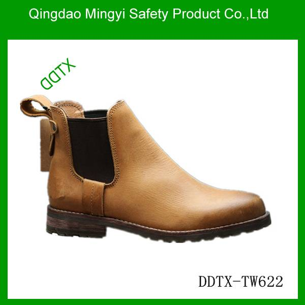 Goodyear welt western style causal shoes