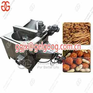 Fried Kuli Kuli Machine|Nigerian Groundnut Snacks Frying Machine