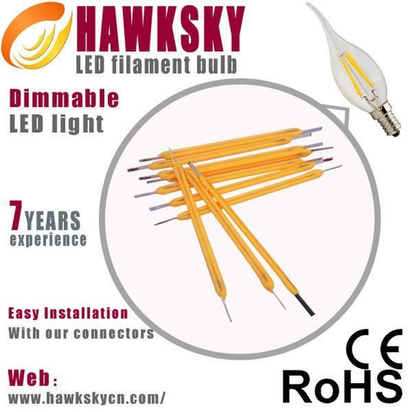 High quality led lights led filament candle light