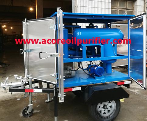 Mobile Transformer Oil Treatment Machine Price