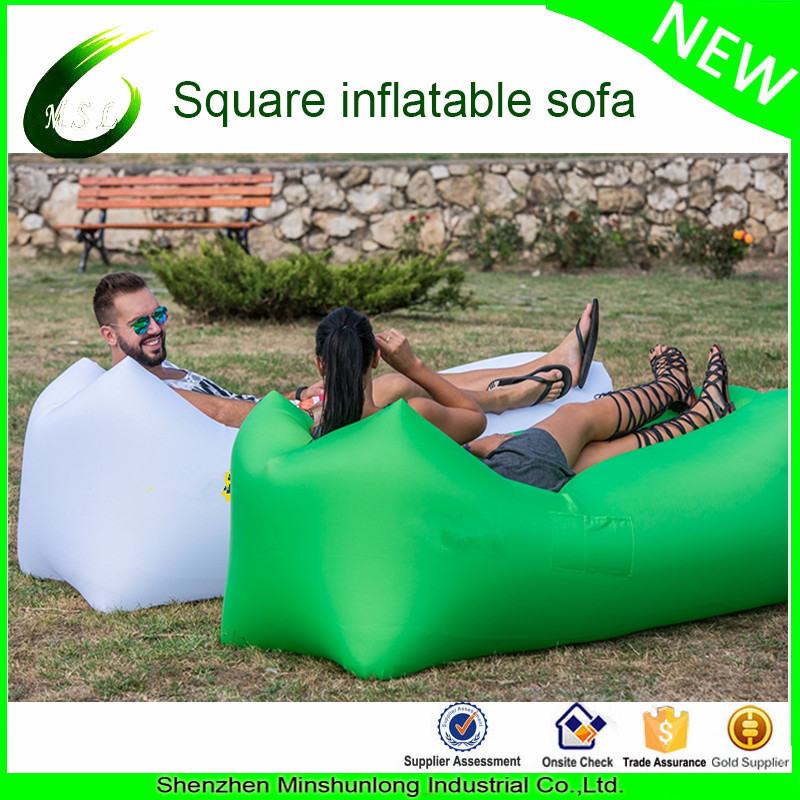 Hot new inflatable sleeping lazy bag Light Weight Traveling Sleeping Bag Portable Outdoor Camping Sl