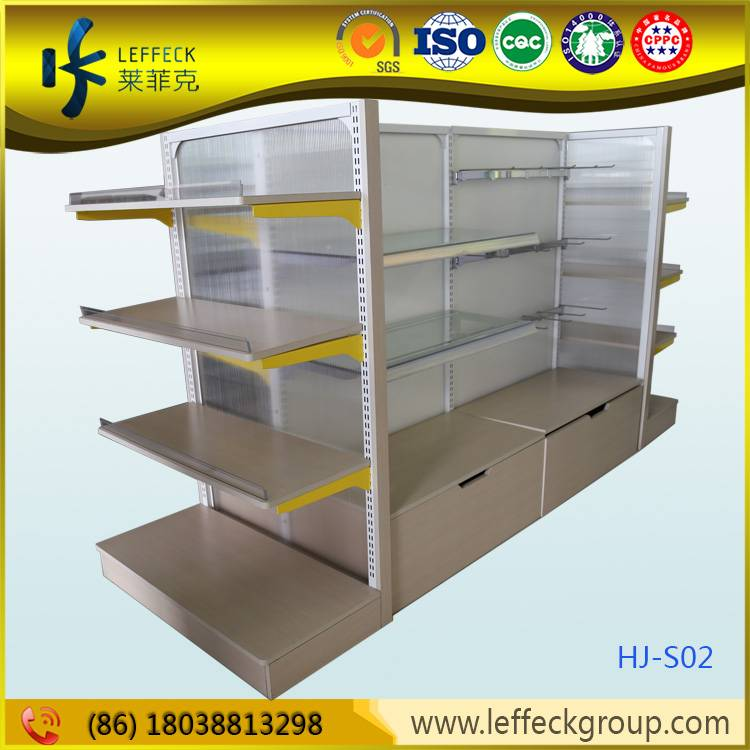 Guangdong Supplier OEM design metal gondola shelving