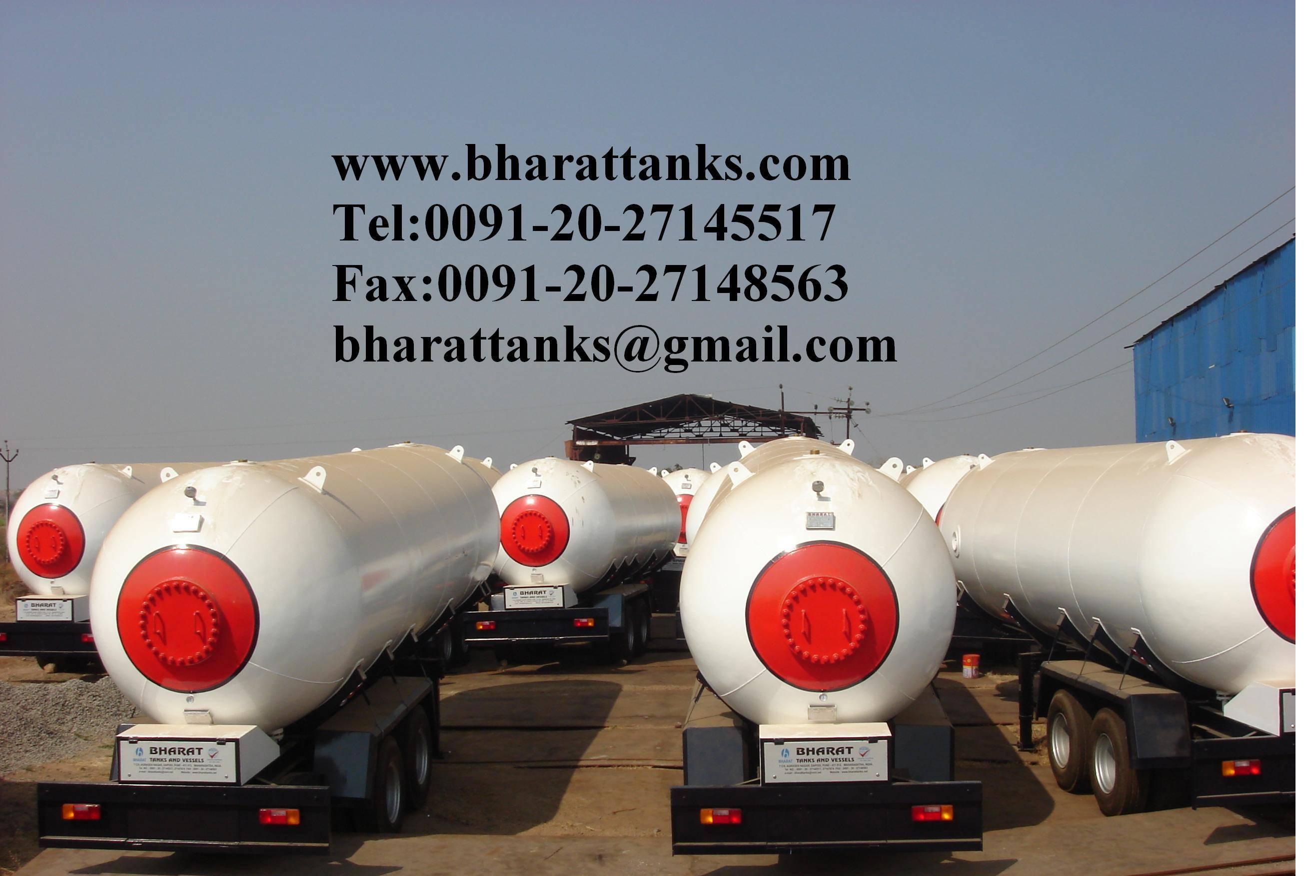 lpg transport truck tanks