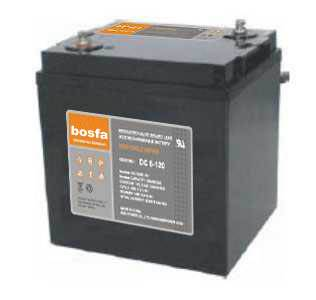 DC6-120 deep cycle battery volts 6v120ah grid battery agm lead acid ups battery for solar system 120