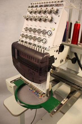 Commercial Embroidery Machine Butterfly