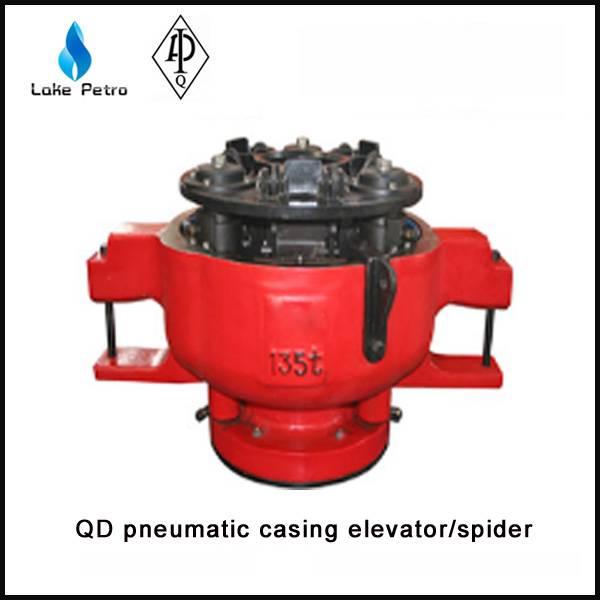 High quality QD135 pneumatic casing elevator spider in oilfield