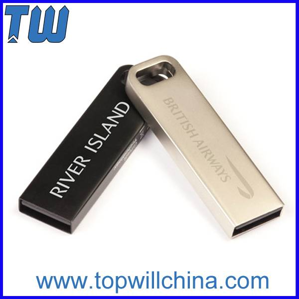 Tiny Slim Full Metal Usb 3.0 Flash Drives Free Logo Design
