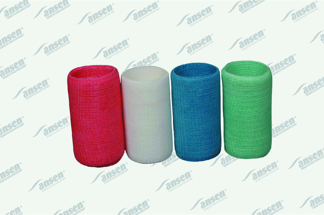 Fiberglass casting tape, various colors are available