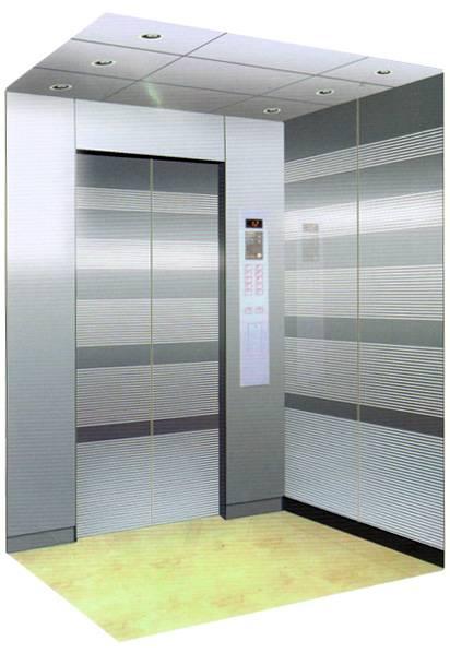 Japana Sanyo mirror etching elevator 800kg elevator
