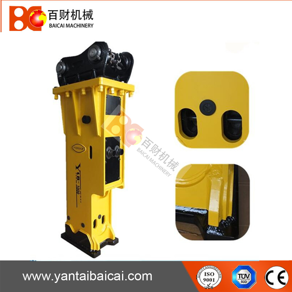 High quality excavator parts concrete hydraulic breaker for sale