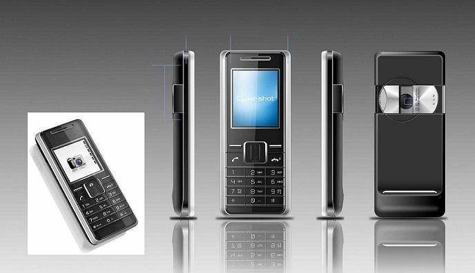 CS302-CDMA 450MHz Dual SIM Fashion Mobile Phone With 2.0 TFT LCD/FM/MP3/Camera