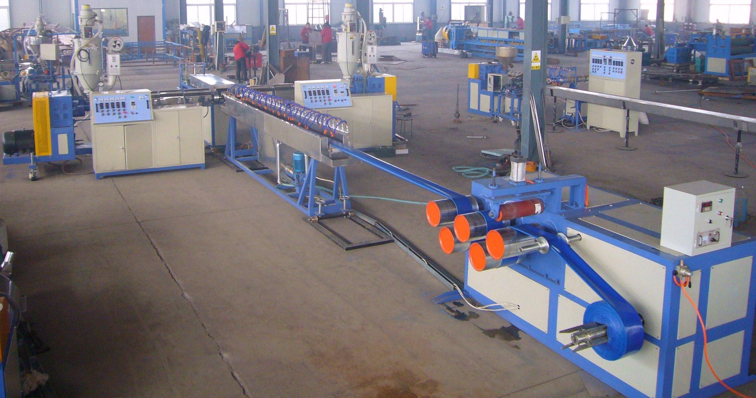 PVC agriculture Lay-flat Hose Extrusion Line