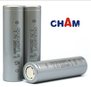 Cylindrical Rechargeable Li-ion Battery Cells with 3.7V Voltage
