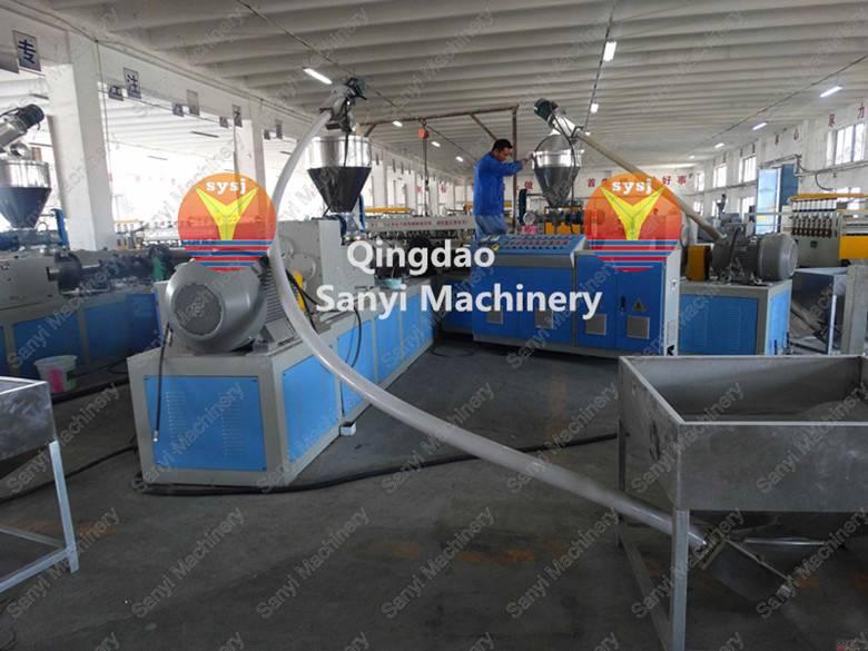 PVC Skinning/Crust Foam Board Machine/Extrusion Line