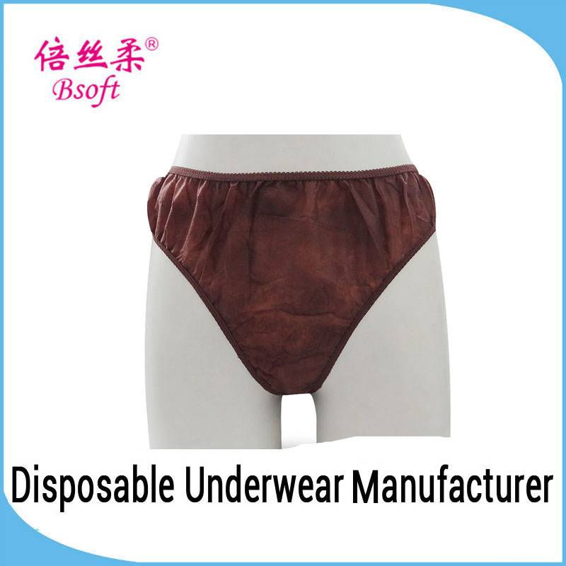 Fashion Sexy Underwear Stylish Disposable Japanese Girl Sexy Panty for refugee