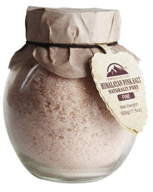 Himalayan Chef-500g Fine Salt Jar #5361