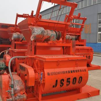 JS500 small mini concrete mixer
