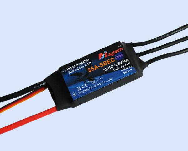 Maytech electronic spped controller for helicopter and  multikopter(MT85A-SBEC-HE)