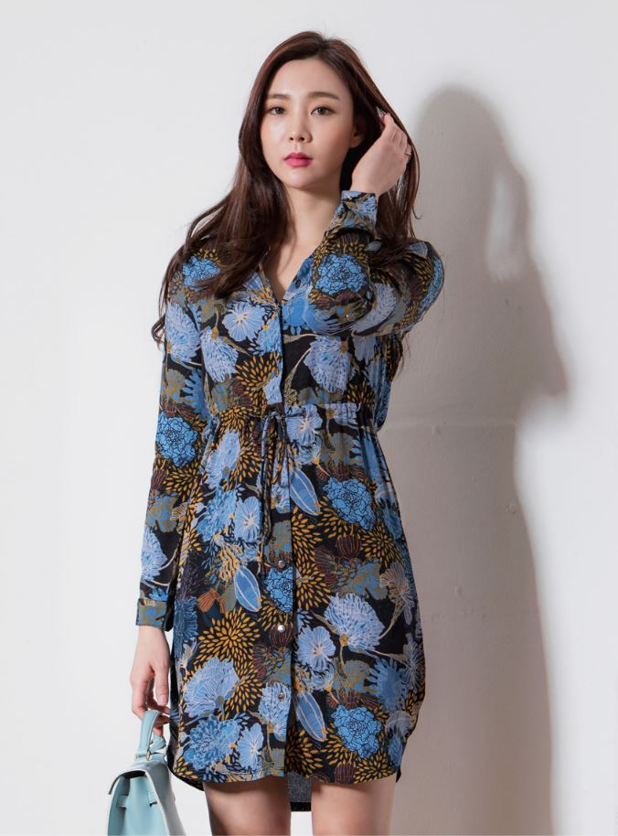 New Fashion High quality Brand Dandelion string blouse type dress