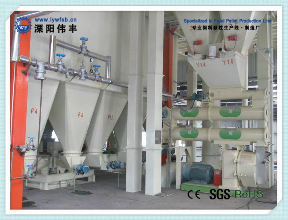 1-30t/h livestock &poultry feed production line