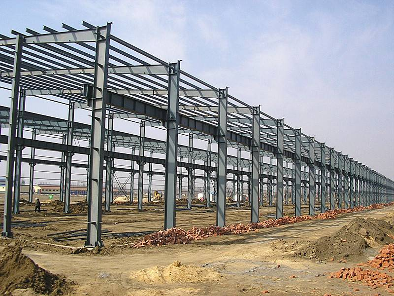 Prefabricated Steel Structure Building Workshop