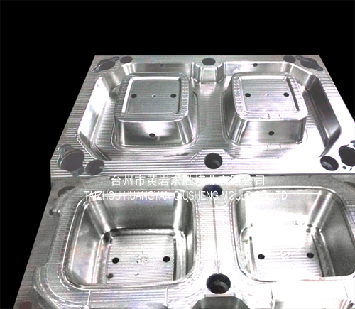 Plastic pp disposable squared snack boxes plastic mould