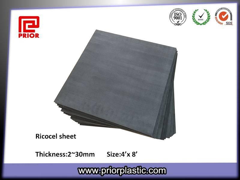 Black Ricocel Sheet PCB Pallet Material