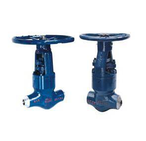 high temperature and high pressure power station globe valve