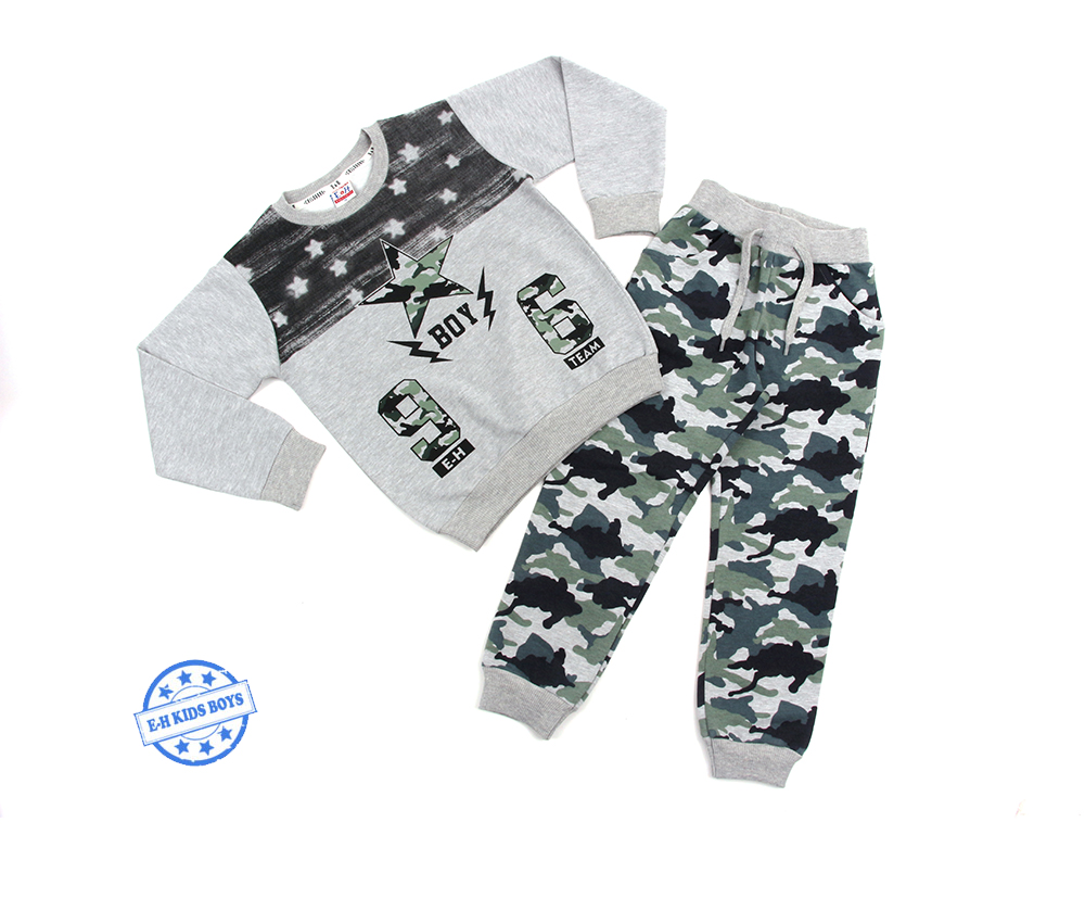 Breeze boy wear top and bottom clothing sets