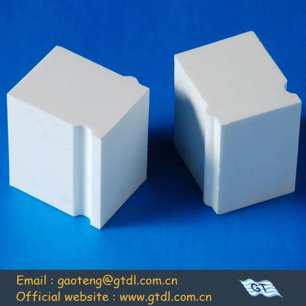 hot industrial aluminum lining brick used for milling grinding