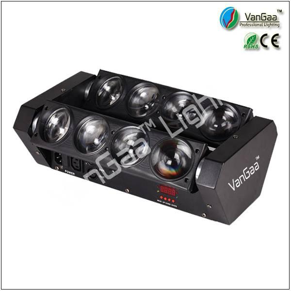Van Gaa Lighting Factory disco light 8 eyes beam led Moving Head nightclub decoration Light