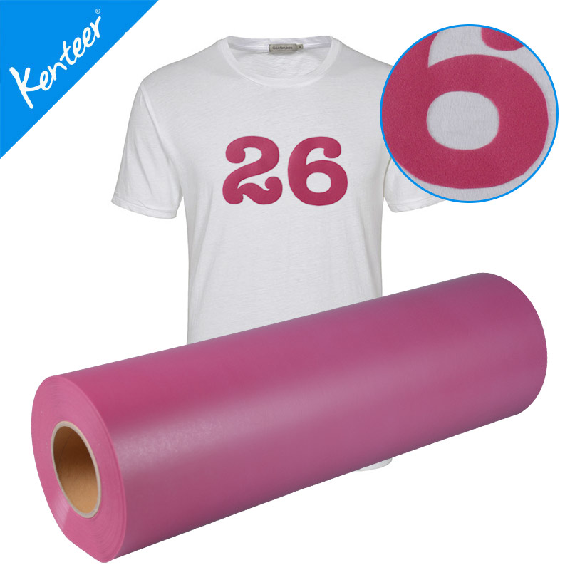 Specifications Material Type:Film Material:heat transfer vinyl Application:Textiles Type:Heat Tr