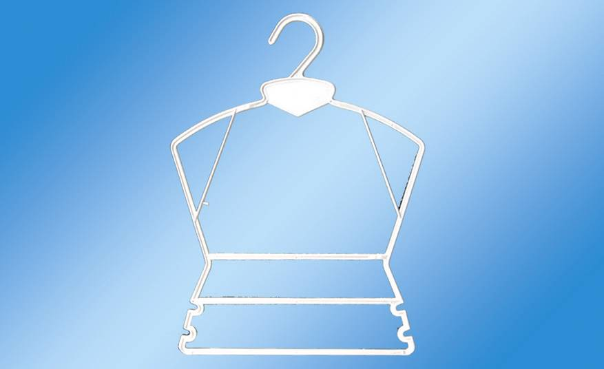 Clothing Hanger with Plastic Hook Hangers for Children