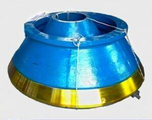 High Manganese Steel Concave Crusher Parts