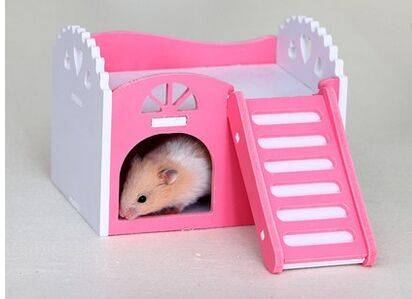 hamster,guinea pig,hedgehog small animal castle sleeping nest