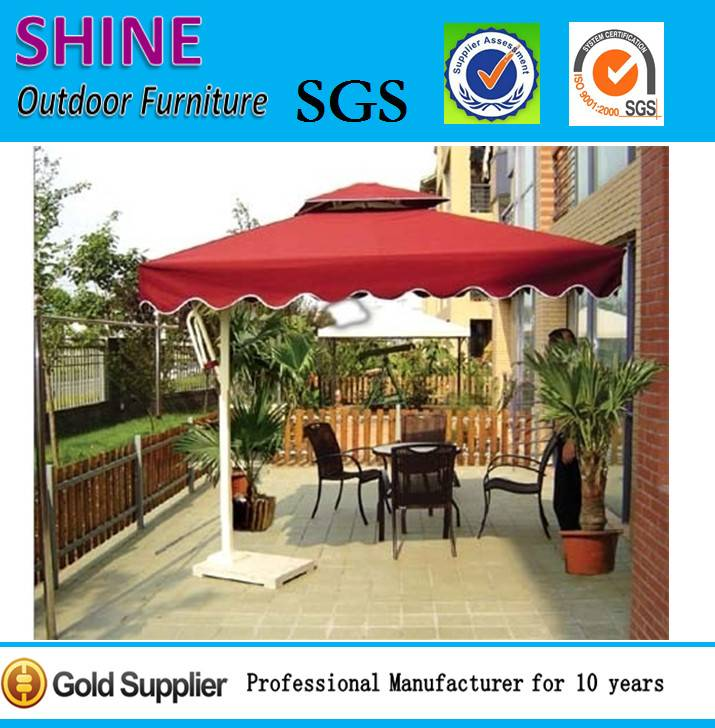 UV Resistant Side Post Patio Umbrella & Parasol SOU1002