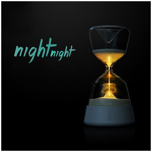 timer usb led night light