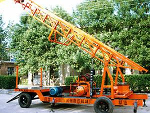 Trailer Engineering and water-well drilling rig YF-BZ-CGSL300A