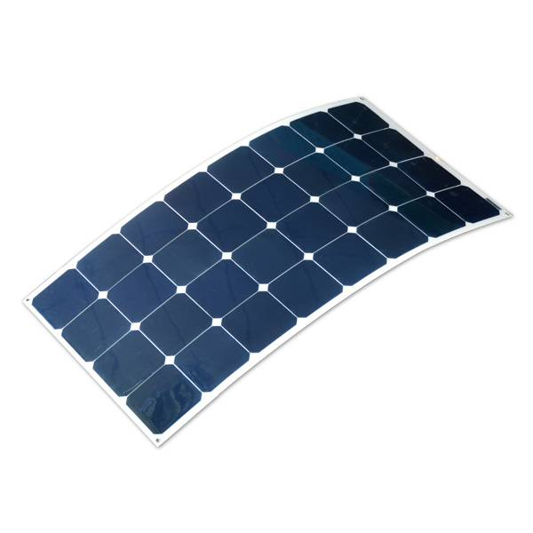 Semi Flexible Solar Panel 100W for Marine Use