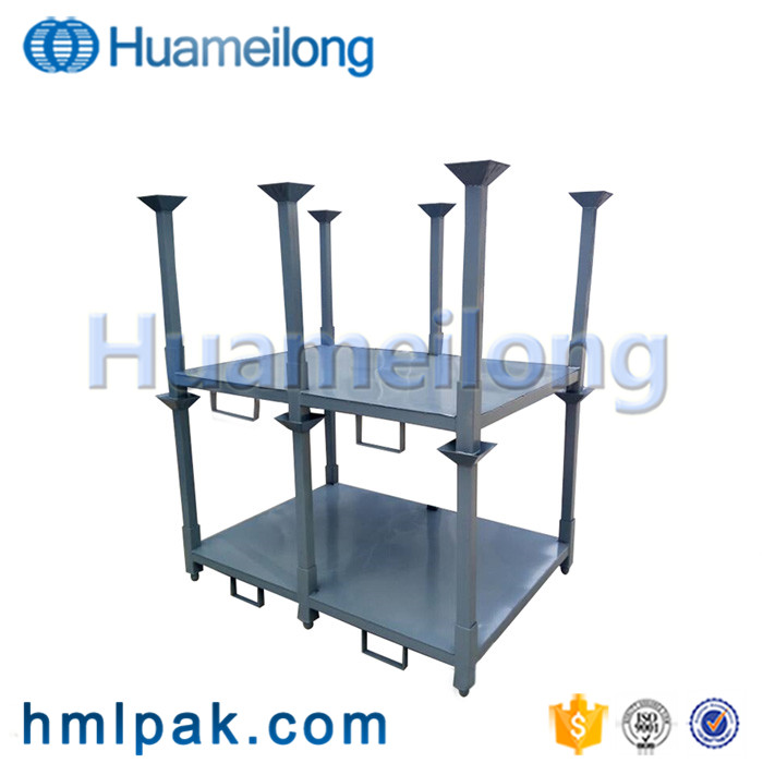 High quality warehouse storage stacking hot dip galvanized pallet tires racking