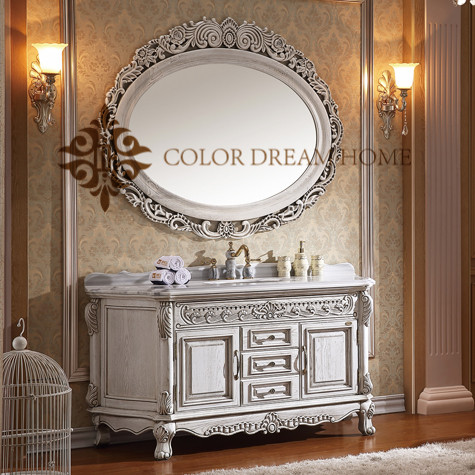 China made modern melamine vanity bathroom furniture design