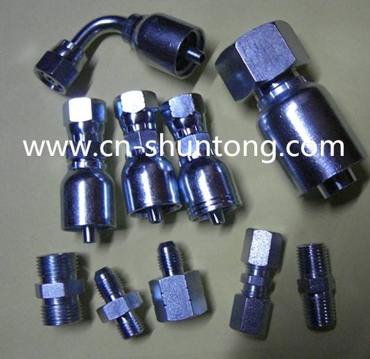 hydraulic fitting and one-piece fittings