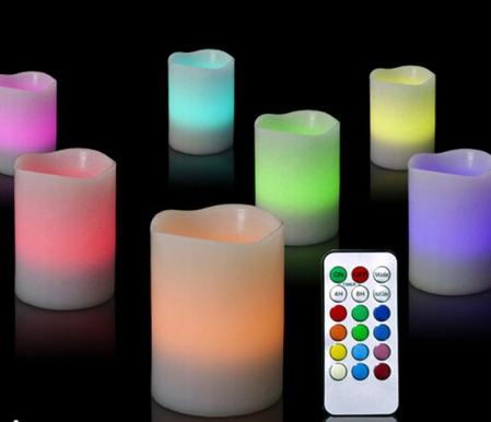 Colour-Changing LED Candle Lights