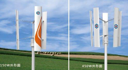 Fd-150W off-Grid Vertical-Axis Wind Turbine Generating Set