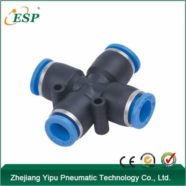 ningbo Cheap quick release air fittings compression fitting plastic tubing