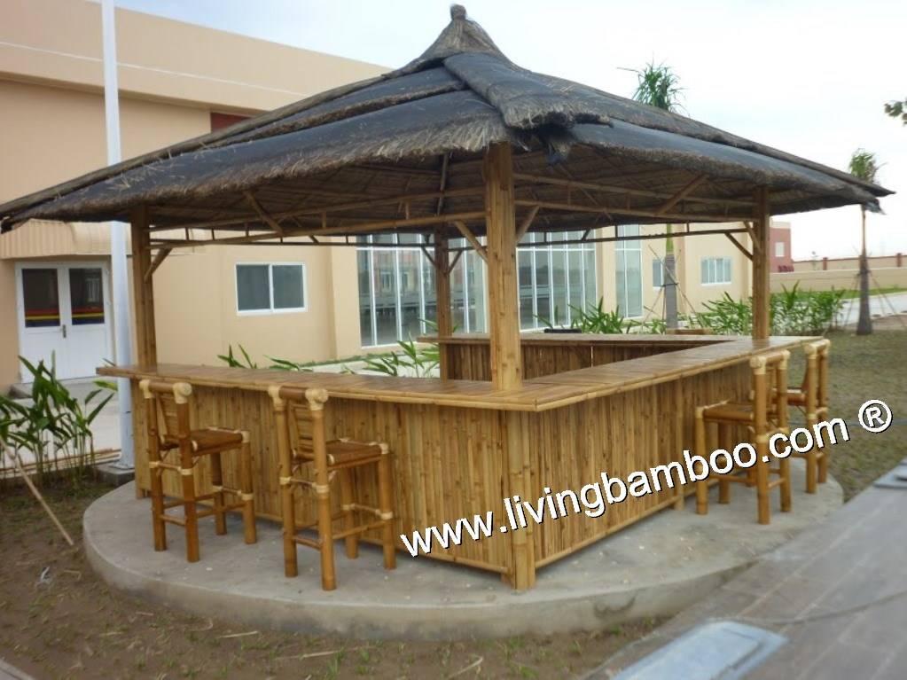 Bamboo Tiki Bar Thatch Roof Beautiful, Durable